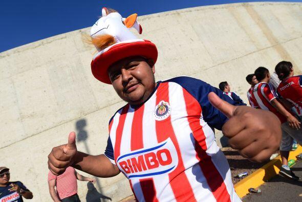 La afición de América y Chivas a pesar del mal momento de los equipos, s...
