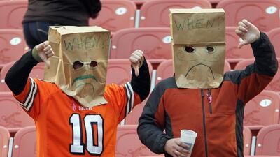 Fans de Browns recibirán cervezas gratis tras primer triunfo del equipo