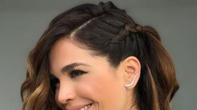 Peinados y accesorios para toda ocasión: Karla Martínez se divierte creando looks (fotos)