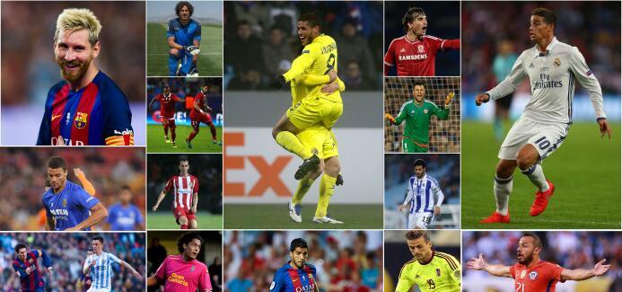 Latinoamericas en la Liga