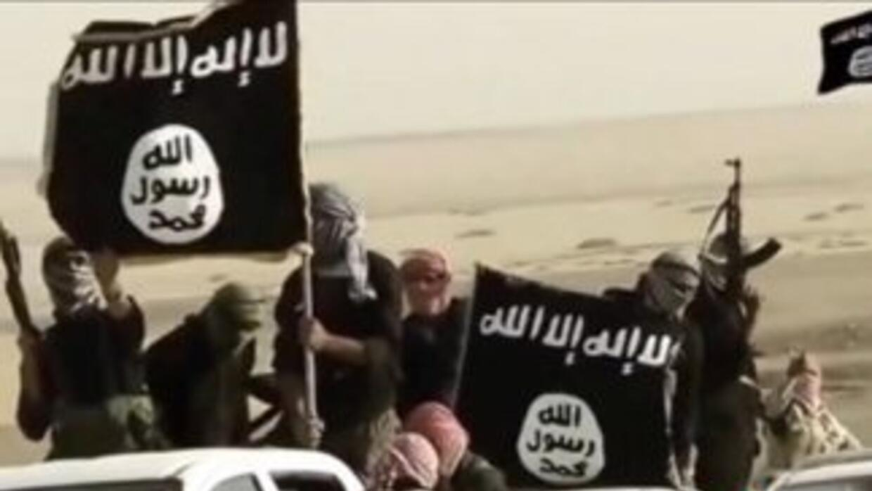 Combatientes del Estado Islámico (EI).