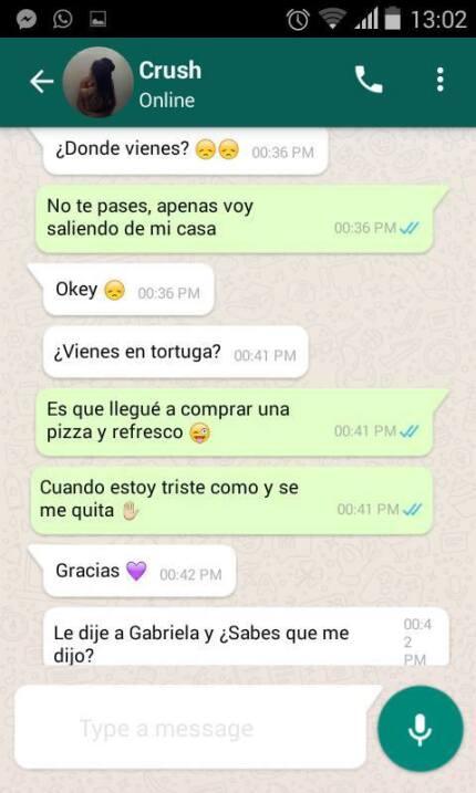 El amor trágico de Tamara y Eduardo: la conversación de Whatsapp que se...