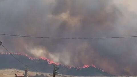 Alerta roja este lunes en el condado de Los Ángeles por el alto riesgo d...