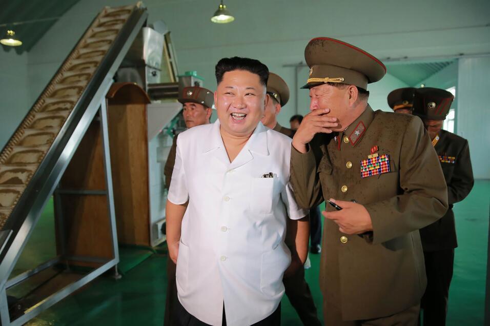 Kim Jong Un, en una imagen de archivo.