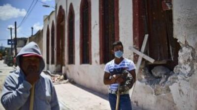 Mazapil, después de la tragedia.