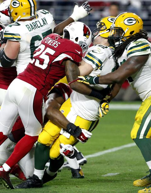 Los Arizona Cardinals vencieron 38-8 a los Green Bay Packers por lo que...