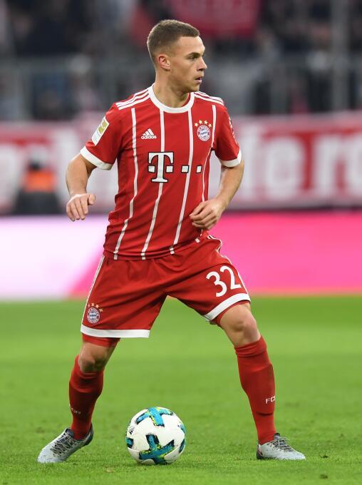 4, Joshua Kimmich (Bayern Múnich): el joven lateral está consolidando su...