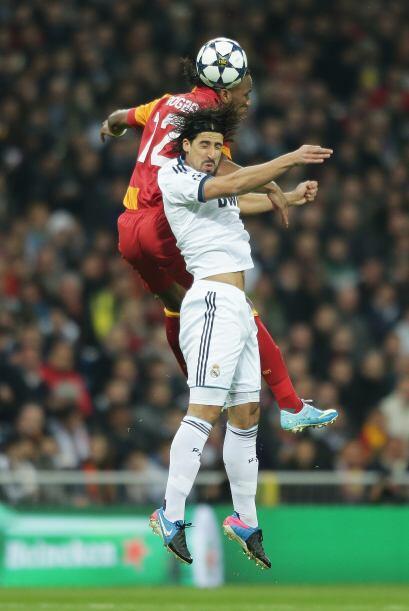 El Real Madrid recibió en el Santiago Bernabéu al Galatasaray en la ida...