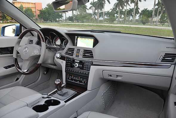 La cabina combina elegancia y buen gusto junto a las últimas tecnologías.