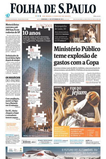 Cortesía de Folha de Sao Paulo, Brasil, vía Newseum.