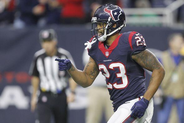 Arian Foster  de los Houston Texans tuvo otro año fuerte y una ve...
