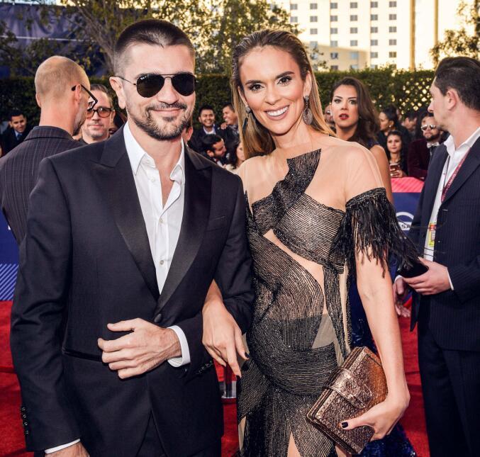 Juanes y Karen, ¡qué porte!