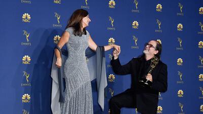 La propuesta de matrimonio que se robó el show en plena entrega de los premios Emmy