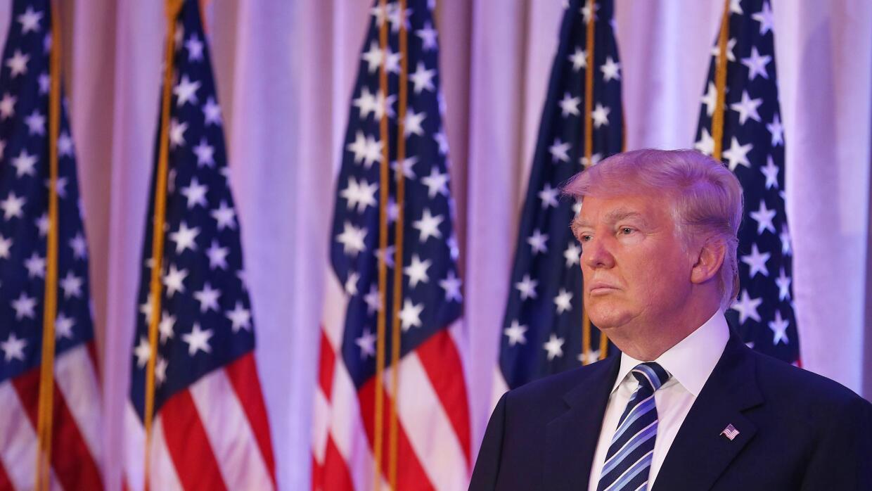 El magnate republicano Donald Trump.