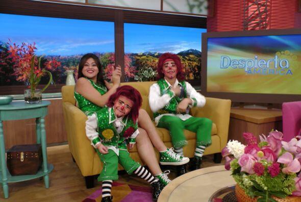 Lapizín, Gomita y Lapizito llegaron a Despierta América para hacernos re...