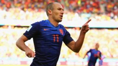 El delantero holandés señaló que tuvieron un partido muy complicado ante...