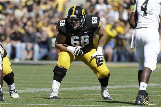 Selección 9 New York Giants: OG Brandon Scherff, Iowa(AP-NFL)