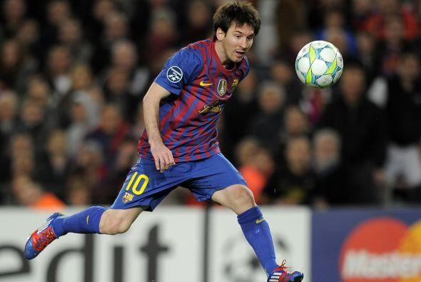Antes del final del partido, el diez del Barça aún ha tenido tiempo de f...