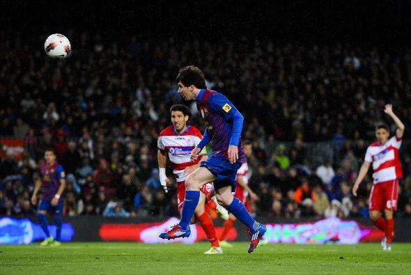 Messi quería más y lo consiguió. Marcó su se...