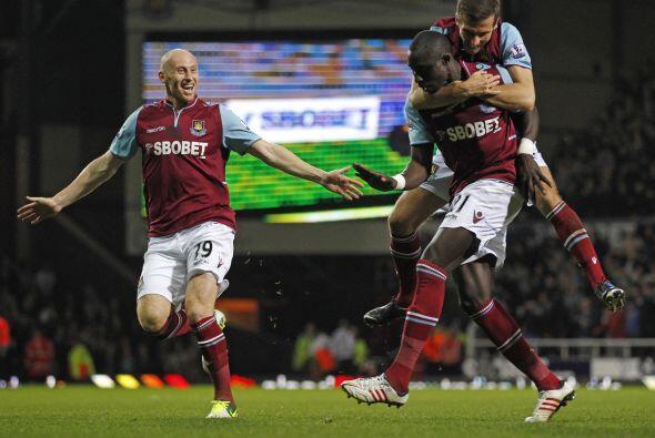 El West Ham estaba que no creía en nadie y logró volver a irse adelante.