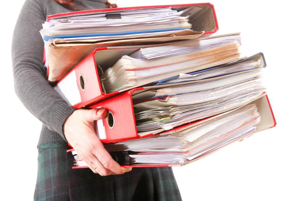 Pon orden. Tener tus archivos y correos electrónicos organizados...