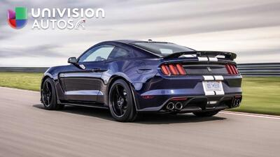 Mira y escucha al Ford Mustang Shelby GT350 2019