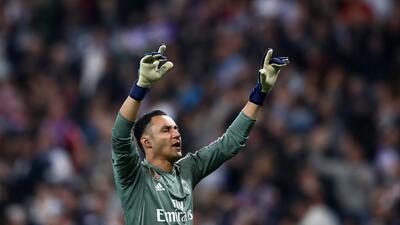 Keylor Navas, el crack de Concacaf que fue figura en el paso de Real Madrid a la final