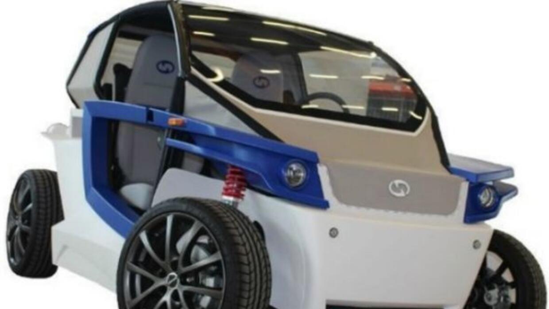 El C16 es el primer auto eléctrico hecho con una impresora 3D. (Foto: St...