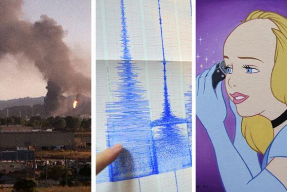 Esta semana estuvo llena de todo un poco en California, desde un incendi...