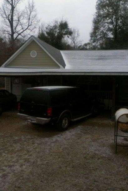 Con hielo, aguanieve y lluvia congelada; así amanecimos este martes en e...