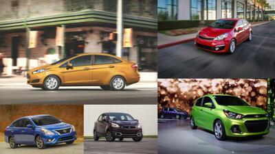 Conoce los 10 autos más baratos que puedes comprar en los Estados Unidos