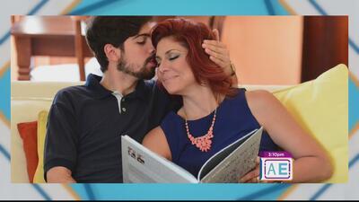 Celebrando el día de las madres: Linette Torres y su hijo Fernando Terrazo