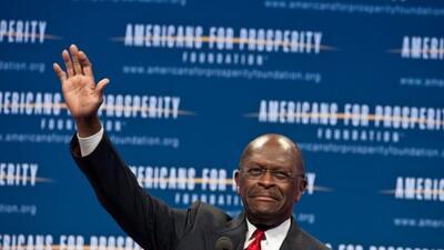 El aspirante a la candidatura republicana Herman Cain visita el sur de F...