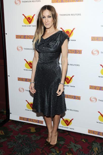 Sarah Jessica Parker es una de las famosas que jamás la veremos descalza...