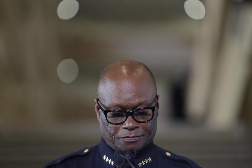 Jefe de la policía de Dallas David Brown