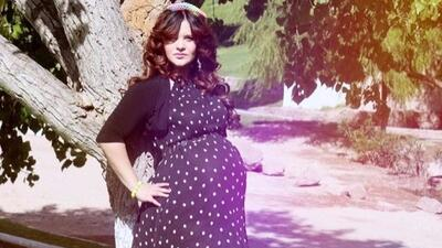 Salen a la luz fotografías de Allisson Lozz embarazada