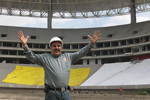"""""""¡A jugar!"""", dice el presidente Fernando Fiore."""