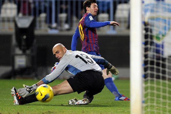 Casi terminaba el partido y el '10' del Barcelona hizo un jugadón indivi...