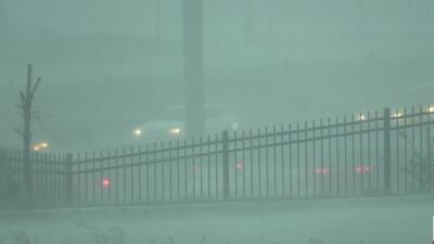 Las intensas lluvias provocaron estragos en vías, viviendas y negocios del Metroplex