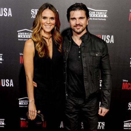 Karen Martinez y Juanes en una foto de archivo