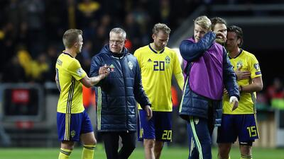 Suecia, rival de México en el Mundial, derrota 1-0 a Dinamarca en amistoso