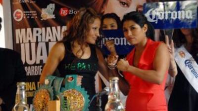Mariana Juárez y Arely Muciño prometiron dar una batalla espectaculatr e...