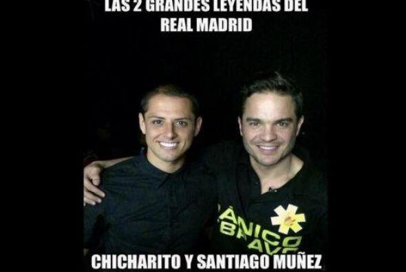 Memes de la llegada del Chicharito a Madrid