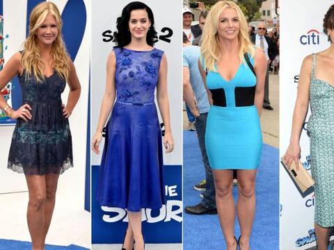 La alfombra azul de 'Los Pitufos' se llenó de pura celebridad, qu...