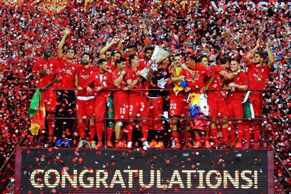 Así el Sevilla consiguió revalidar su título de hace un año.