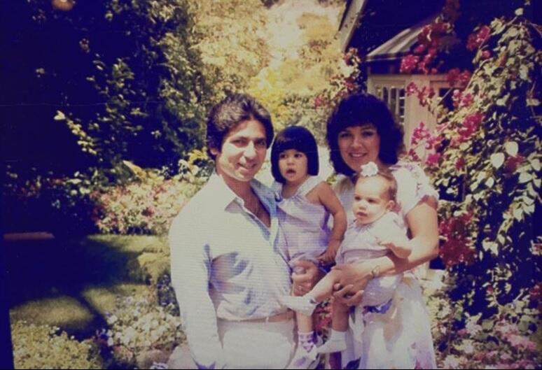 Familia Kardashian infancia