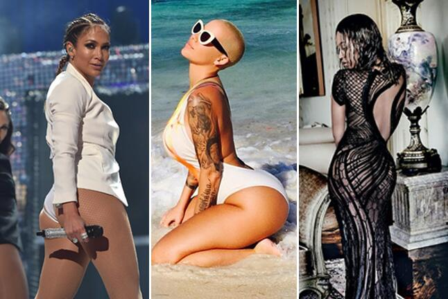 Los mejores bootys de 2015