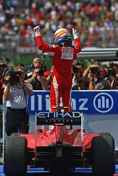 El piloto español de la Ferrari no ganaba desde el 14 de marzo cuando ar...
