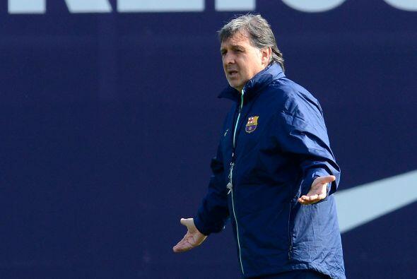 """En su primer año al mando del Barcelona, Gerardo """"Tata"""" Martino tiene a..."""