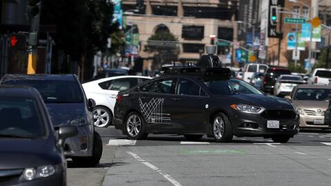 Los vehículos autónomos de prueba que utiliza Uber ya volv...